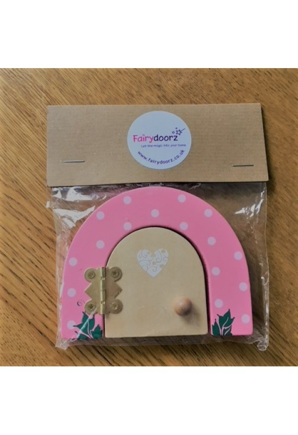 ECO friendly packaged Pink Fairydoor