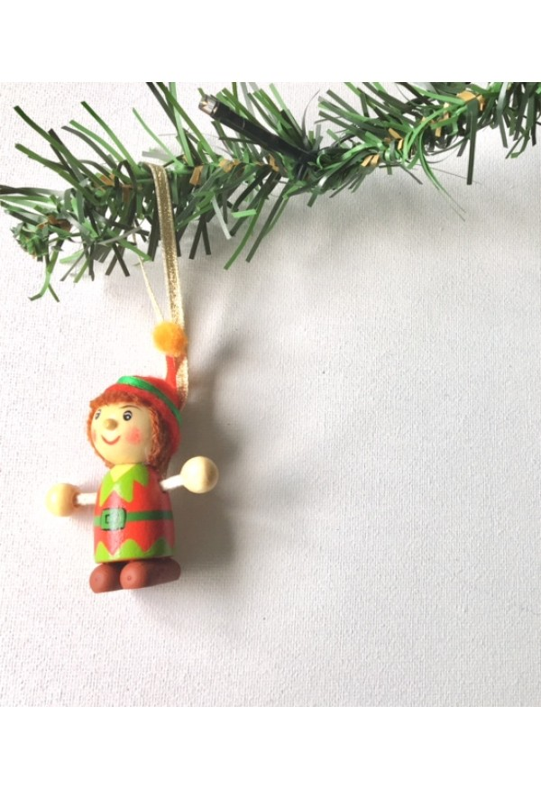 Elfl Christmas tree decoration