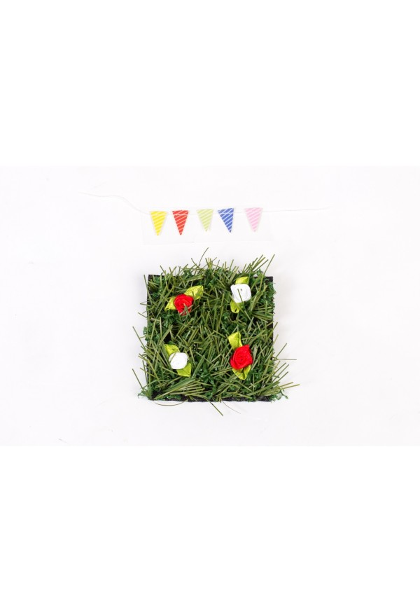 Fairy Lawn Grass Patch & Bunting Set