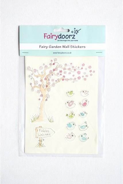 fairy wall stickers set wishing tree peelable wall stickers