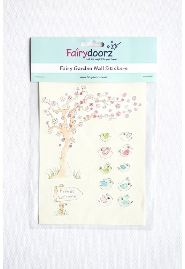 Fairy wall stickers set - Wishing Tree
