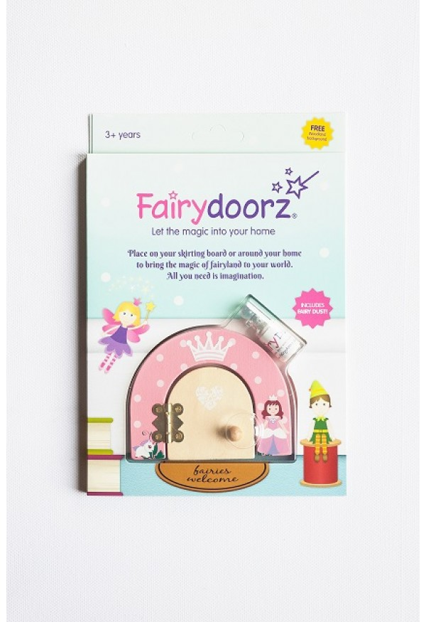 Princess Magical themed fairy door & fairy dust gift set
