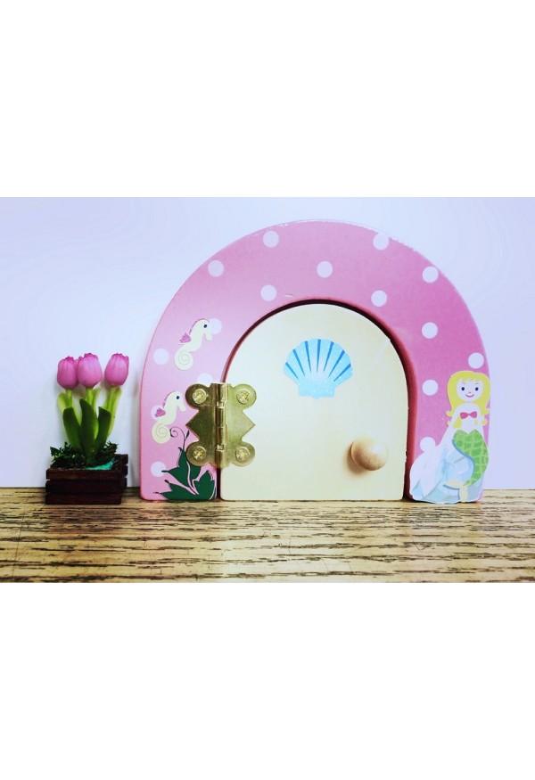 Mermaid themed fairy door fairy dust gift set for Fairy door gift set