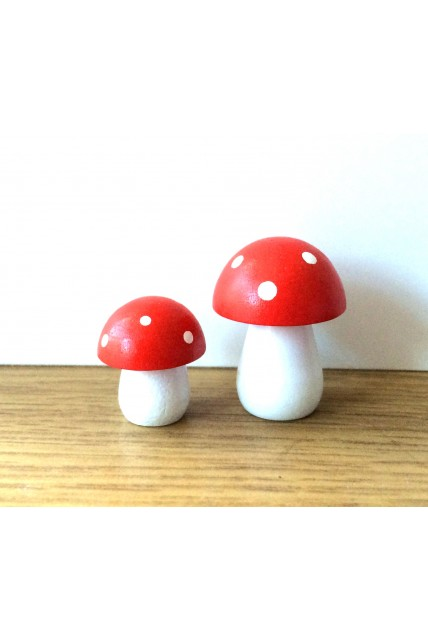 Mini toadstools