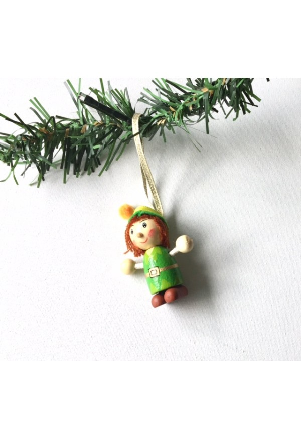 Pixie Christmas tree decoration