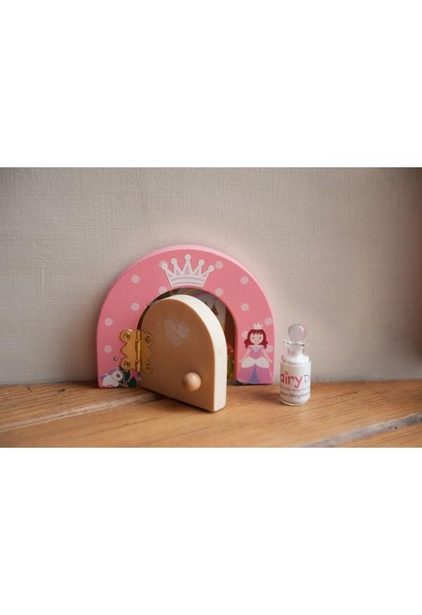 Princess magical themed fairy door fairy dust gift set for Fairy door gift set