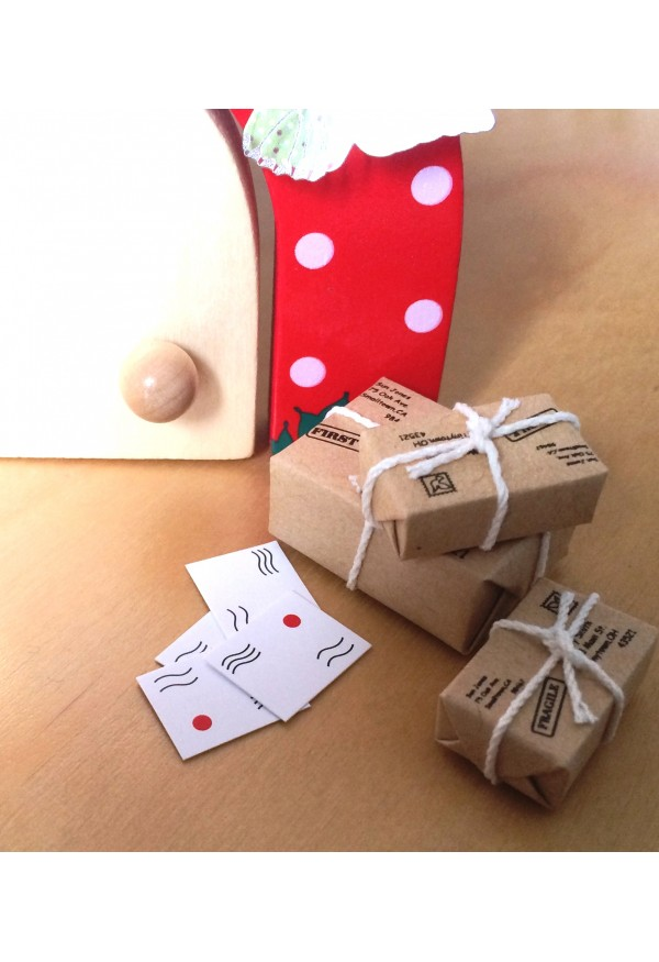 Royal Fairy Mail bundle of parcels and letters