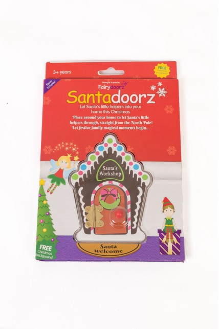 Santas workshop Santadoorz gingerbread house