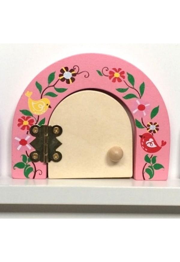 Secret meadow fairy door fairy dust gift set pink peony for Fairy door gift set