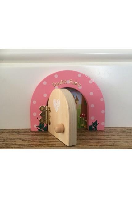 Tooth fairy dotty door fairy dust gift set by fairydoorz for Fairy door gift set