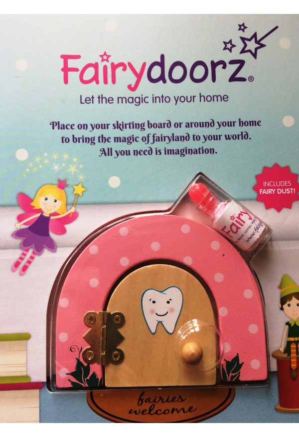 Tooth fairy door gift set, by fairydoorz