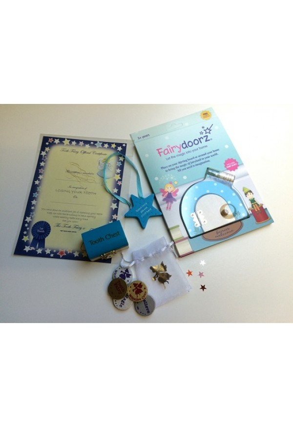 Tooth fairy starter set - blue