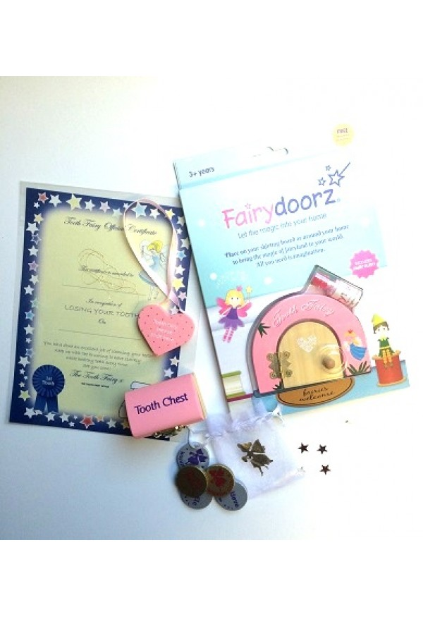 Tooth fairy starter set - pink