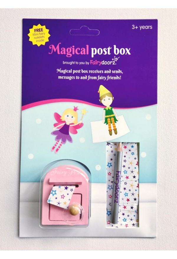 Fairy post box by fairydoorz - PINK