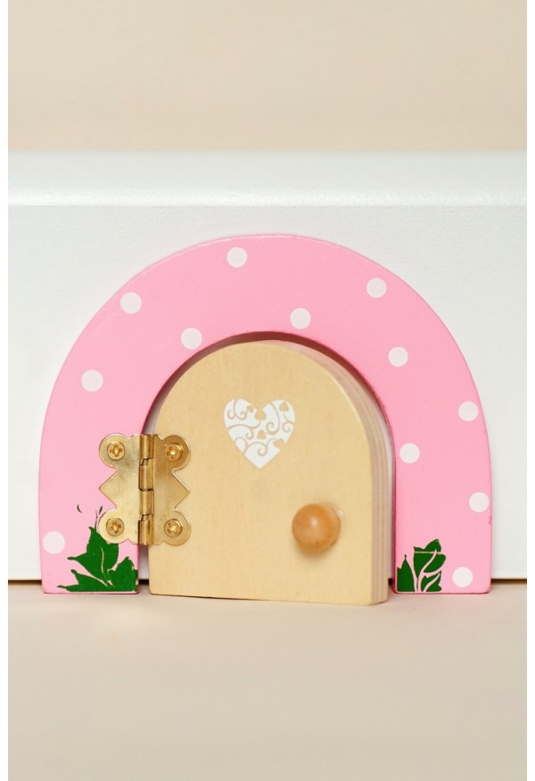 Pink Sherbet Dotty fairy door