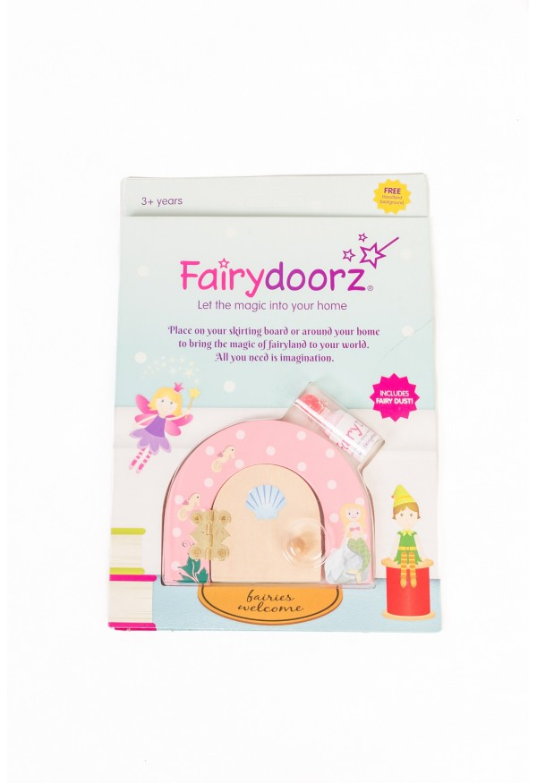 Mermaid themed fairy door & fairy dust gift set