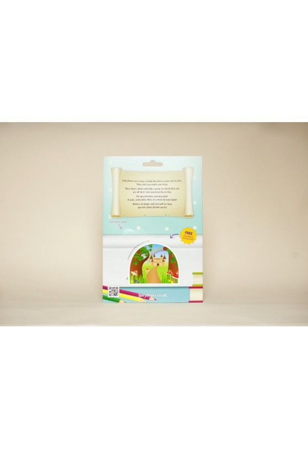 Pink sherbet dotty fairy door fairy dust gift set for Fairy door gift set