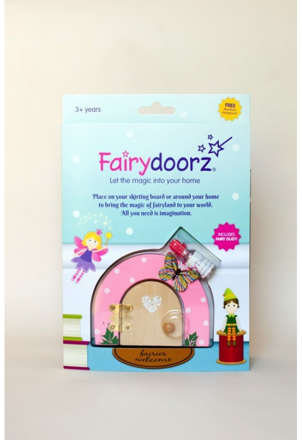 Buttercup fairy door & fairy dust gift set
