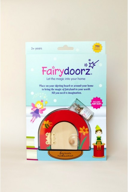 Buzzy the Bee & Daffodil fairy door & fairy dust gift set