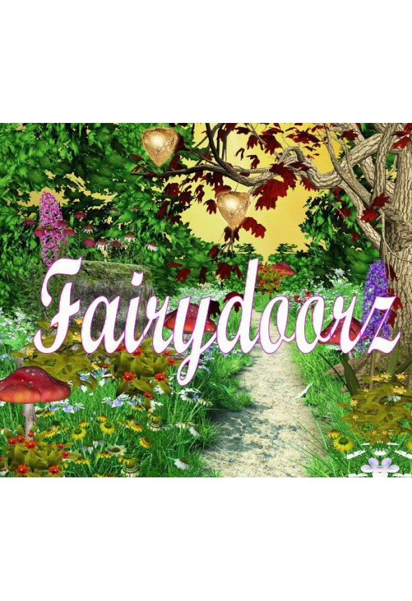 Fairy Scene Cards - set of 4 backgrounds - Fairy 1